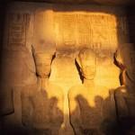 تعامد الشمس علي رمسيس بمعبد ابو سمبل
