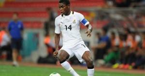 البربت بروسى لاعب وسط المنتخب الغانى الأوليمبى