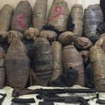 مضبوطات بانجو وسلاح - صورة أرشيفية