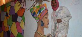 حكاية فتاة نوبية ترسم تراثها على جدران شوارع الإسكندرية بفحم الشيشة
